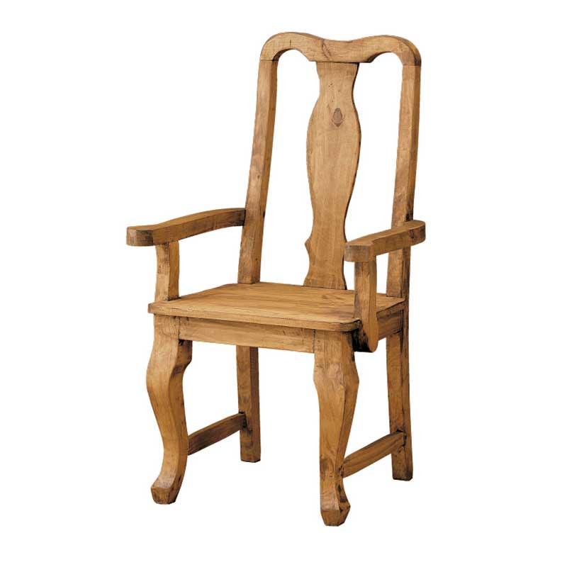 Silla de madera estilo mejicano modelo cl sico el tavolino - Sillas rusticas ...