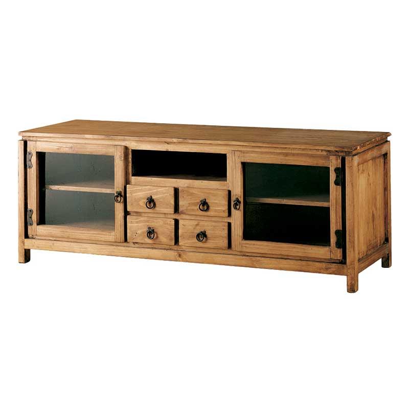 Mueble Televisión Cristal