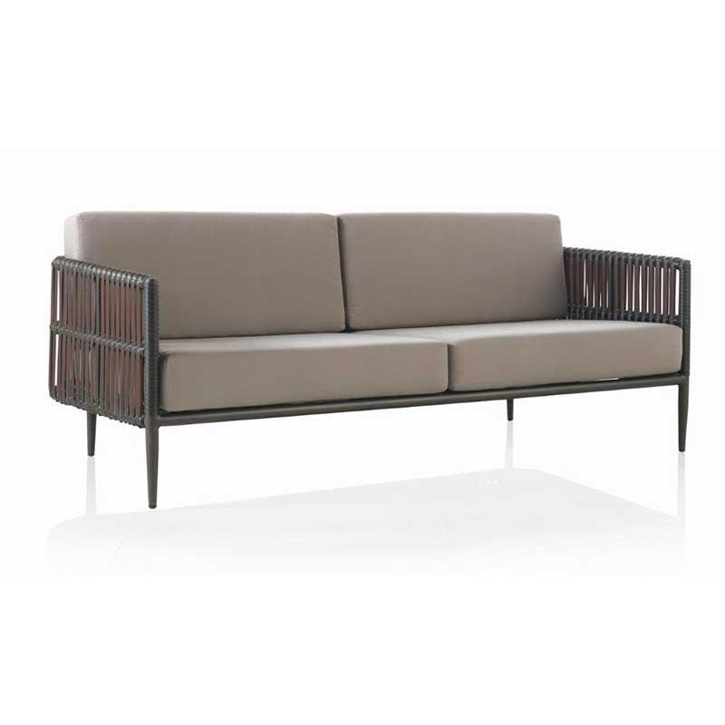 sof de exterior aluminio y fibra sint tica trenzada el