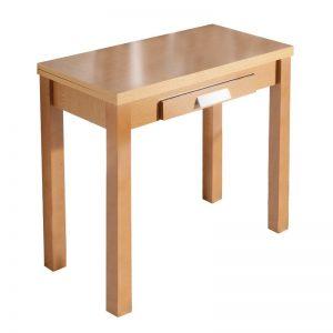Mesa de cocina extensible tipo libro. Disponible en varios colores. El Tavolino