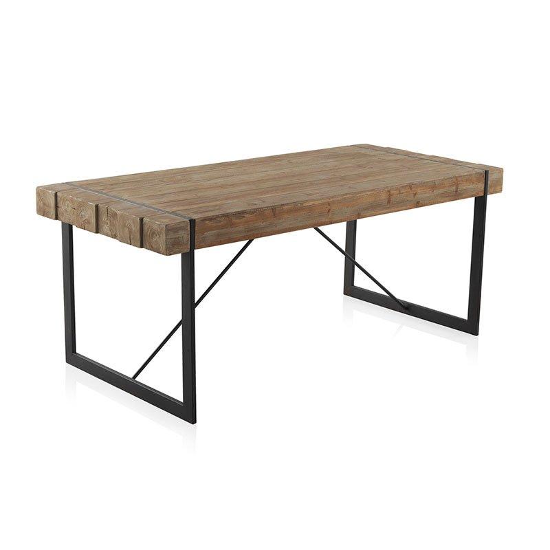 Mesas comedor el tavolino for Comedor completo con mesa de carree