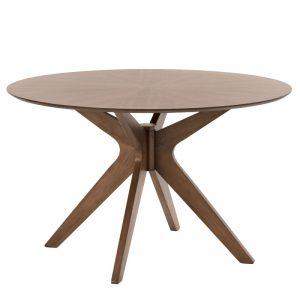 Mesa redonda de comedor. Modelo Carmel. El Tavolino
