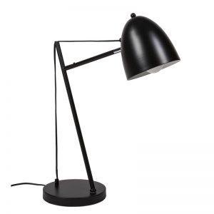 lámpara color negro modelo tossal, flexo estilo industrial. El Tavolino