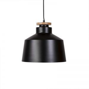 lámpara de techo modelo Artana en color negro. Estilo industrial. El Tavolino