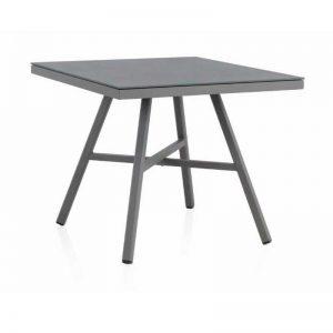 Mesa de comedor cuadrada de 90x90. Colección Cube. Mobiliario de exterior El Tavolino