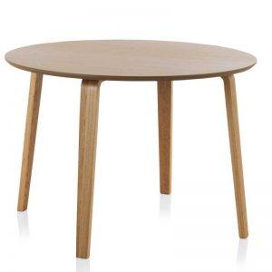 Mesa comedor de estilo nórdico, madera de roble natural. El Tavolino