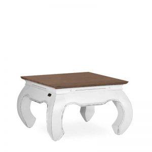 Mesa de rincón estilo colonial. Modelo Opium de la Colección Everest. Muebles El Tavolino