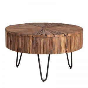Mesa centro redonda. Modelo Tarak. El Tavolino