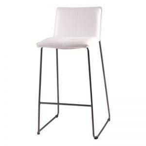 Taburete con respaldo modelo Lou. Muebles El Tavolino