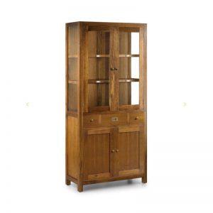 Vitrina de estilo colonial. Colección Star. Muebles El Tavolino