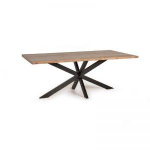 Mesa comedor fija estilo industrial. Muebles El Tavolino